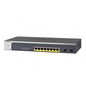 Netgear 8 Port Gigabit POE+ (75W) Smart Switch, GS510TLP