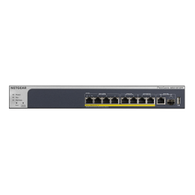 Netgear 8-Port POE+(180W) Multi-Gigabit Smart Managed Pro Switch, MS510TXPP
