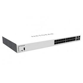 Netgear Insight Managed 24-Port Gigabit PoE+ (390W) Smart Cloud Switch, GC728XP