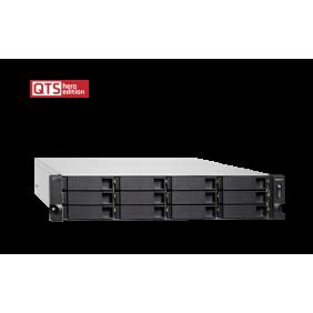威聯通 Qnap TS-h1277XU-RP-3700X-128G 網絡儲存伺服器