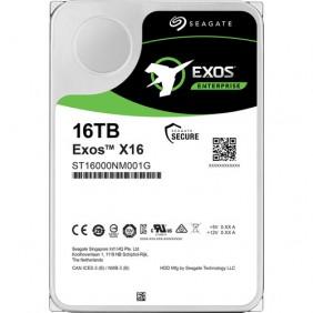 "Seagate Exos X16 16TB Enterprise 3.5"" HDD, Model: ST16000NM001G"