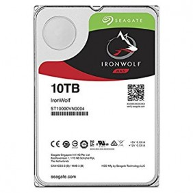 """Seagate IronWolf 10TB 3.5"""" HDD, Model: ST10000VN0004"""