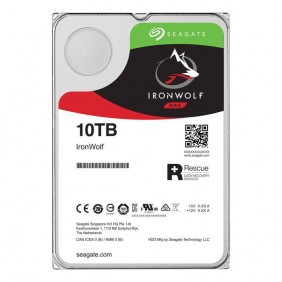 """Seagate IronWolf 10TB 3.5"""" HDD, Model: ST10000VN0008"""