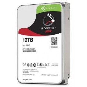 """Seagate IronWolf 12TB 3.5"""" HDD, Model: ST12000VN0007"""