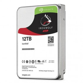 """Seagate IronWolf 12TB 3.5"""" HDD, Model: ST12000VN0008"""
