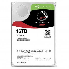 """Seagate IronWolf 16TB 3.5"""" HDD, Model: ST16000VN001"""