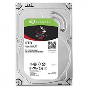 """Seagate IronWolf 2TB 3.5"""" HDD, Model: ST2000VN004"""