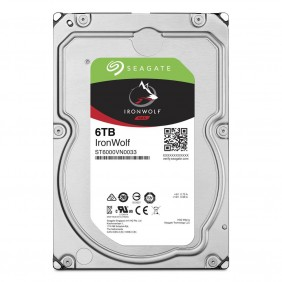 """Seagate IronWolf 6TB 3.5"""" HDD, Model: ST6000VN0033"""