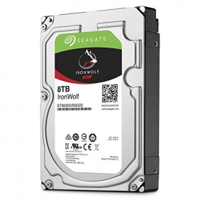 """Seagate IronWolf 8TB 3.5"""" HDD, Model: ST8000VN0022"""