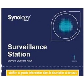 Synology HD-IPCAM1 Camera License Pack(1 License)