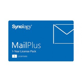 群暉 Synology MailPlus Virtual License Pack (5 License)