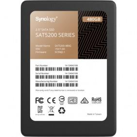 "Synology SAT5200 2.5"" SATA 480GB SSD, Model: SAT5200-480G"