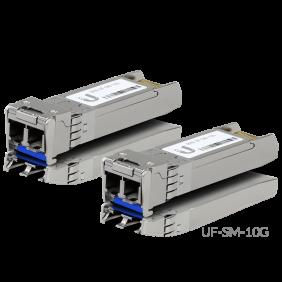 Ubiquiti Single-Mode Fiber Modules, 型號: UF-SM-10G (2-Pack)