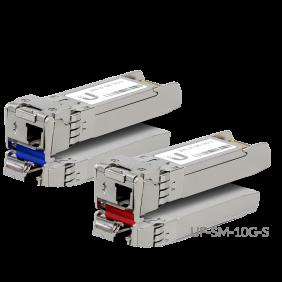 Ubiquiti Single-Mode Fiber Modules, Model: UF-SM-10G-S (1-Pair)