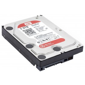 """WD 2TB Red 3.5"""" HDD, Model: WD20EFRX"""