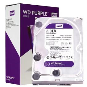 """WD 3TB Purple 3.5"""" HDD, Model: WD30EJRX"""