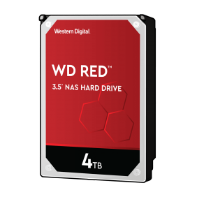 """WD 4TB Red 3.5"""" HDD, 型號: WD40EFZX"""