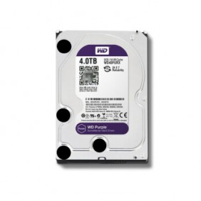 """WD 4TB Purple 3.5"""" HDD, Model: WD40EJRX"""