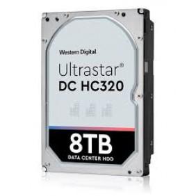 "WD Ultrastar DC HC320 8TB Enterprise 3.5"" HDD, Model: HUS728T8TALE6L4"