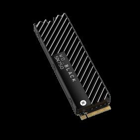 WD Black SN750 PCIe 500GB SSD, Model: WDS500G3XHC (With Heatsink)