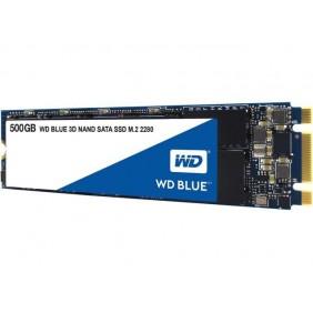 WD Blue M.2 2280 SATA 500GB SSD, Model: WDS500G2B0B