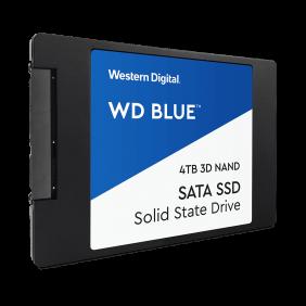 """WD Blue NAND SATA 4TB 2.5"""" SSD , Model: WDS400T2B0A"""