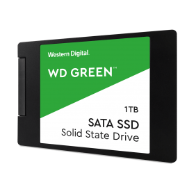 """WD Green NAND SATA 1TB 2.5"""" SSD, Model: WDS100T2G0A"""