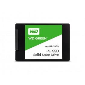 "WD Green NAND SATA 240GB 2.5"" SSD, Model: WDS240G2G0A"