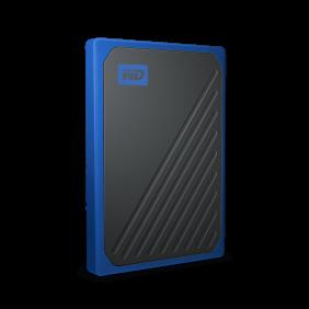 WD My Passport Go External HDD, Model: WDBMCG0010BBT