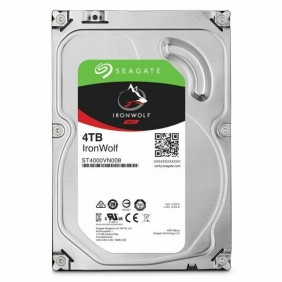 """Seagate IronWolf 4TB 3.5"""" HDD, Model: ST4000VN008"""