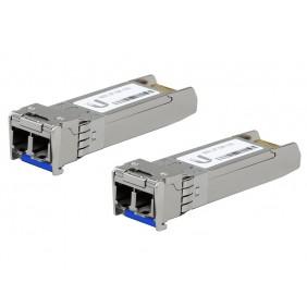 Ubiquiti Single-Mode Fiber Modules, Model: UF-SM-10G (2-Pack)