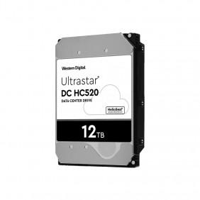"WD Ultrastar He12 12TB Enterprise 3.5"" HDD, Model: HUH721212ALE600"