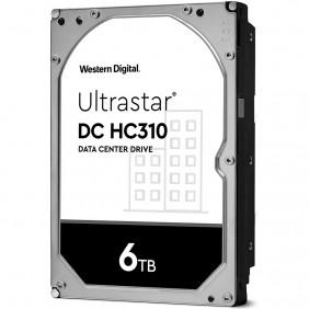 "WD Ultrastar DC HC310 6TB Enterprise 3.5"" HDD, Model: HUS726T6TALE6L4"